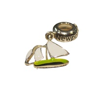 Image for Sterling Silver Newport RI Bead
