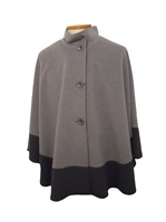 Image for Two Tone Gray Pilo Cape by Jimmy Hourihan