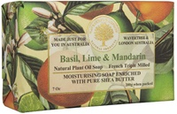 Image for Basil, Lime and Mandarin French Triple Milled Soap
