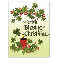 Irish Christmas Blessing.Conception Abbey Card Set An Irish Christmas Blessing
