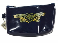 Image for Vinyl Book of Kells Coin Purse Navy