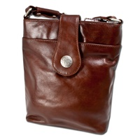 Image for Simple and Classic Brown Leather Torc Bag by Lee River