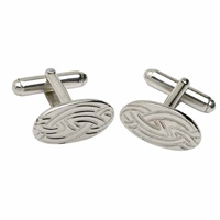 Image for Sterling Silver Livia Oval Cufflinks