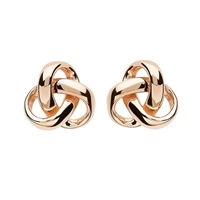 Image for Trinity Knot Fashion Stud Earrings - Rose Gold