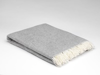 Image for Supersoft Herringbone Throw Blanket, Uniform Grey