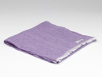 Image for Herringbone Irish Linen Scarf, Lilac