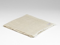 Image for Herringbone Irish Linen Scarf, Oatmeal