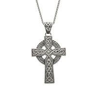 Image for Extra Large Celtic Cross Sterling Silver