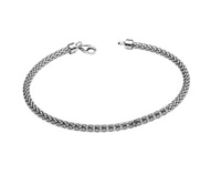 Image for Sterling Silver Bead and Charm Bangle