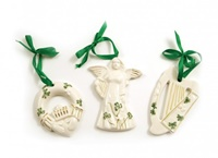Image for Watervale Ornament Gift Set - Harp, Claddagh and Angel Single