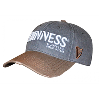 Image for Guinness Blonde Grey and Mustard Baseball Cap with Harp Logo