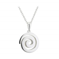 Image for Sterling Silver Spiral Pendant