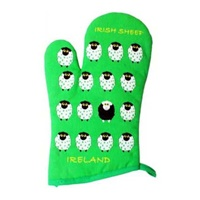 Image for Irish Sheep Cotton Oven Gloves