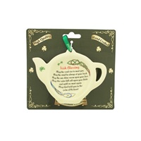 Image for Ceramic Tea Bag Holder, An Irish Blessing