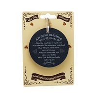 Image for Natural Slate Hanging Ornament, An Irish Blessing