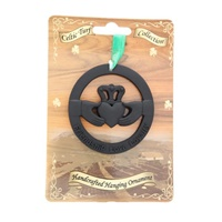 Image for Irish Turf Hanging Ornament, Claddagh