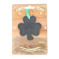 Image for Irish Turf Hanging Ornament, Shamrock