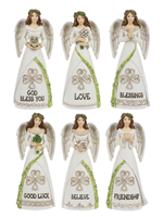 Image for Irish Blessings Angel  Figurines