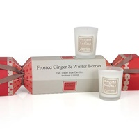 Image for Winterberry and Frosted Ginger Travel Candles