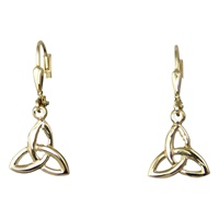 Image for 14K Gold Trinity Drop Earrings