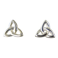 Image for Tiny Trinity Celtic Stud Earrings