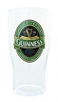 Image for Guinness Extra Stout Green label 20oz Pint Glass