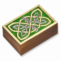 Image for Wooden Celtic Knot Box