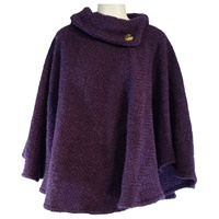 Image for Laura Poncho - Mulberry