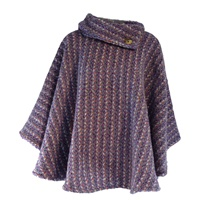 Image for Laura Poncho - Connemara Violet