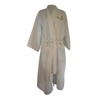 Image for Himself Waffle Weave Robe