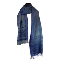 Image for Celtic Motif Stole by Jimmy Hourihan, Blue