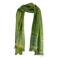 Image for Celtic Motif Stole by Jimmy Hourihan, Green Colour