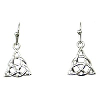 Image for Sterling Silver Celtic Drop Earrings