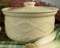 Image for Kara Irish Pottery Aranware Covered Casserole