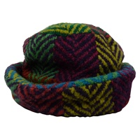 Branigan Weavers Country Hat Multi Lt. Green