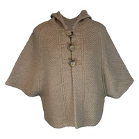 Image for The Rita Cape by Branigan Weavers Beige