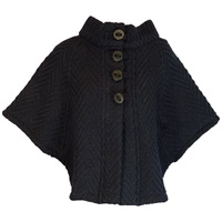 Image for The Rita Cape by Branigan Weavers Eco Navy
