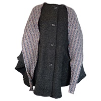 Image for Branigan Tina Cape Natural Black
