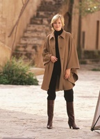 Image for Jimmy Hourihan Cape with Saddle Stitching, Camel