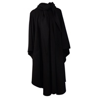Image for Jimmy Hourihan Cape with Convertible Hood, Black