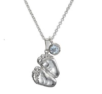 Image for Little Baby Feet Pendant