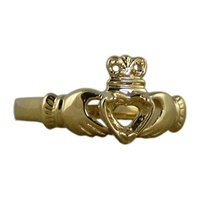 Image for 14K Gold Claddagh Ring - Mount only