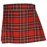 Image for Girls Royal Stewart Tartan Skirt, Size 2