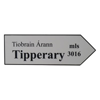 Image for Road Sign Large Plaque, Tipperary