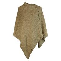 Image for Cotton Linen Button Cape/Shrug