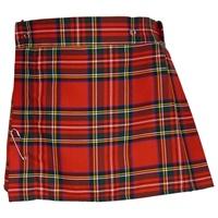 Image for Girls Royal Stewart Tartan Skirt, Size 4