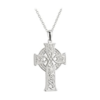 Image for Sterling Silver Small Apostles Cross Pendant