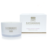 Image for Rathbornes 1488 Cassis Leaves and Jasmine Scented Travel Candle