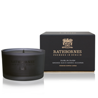 Image for Rathbornes 1488 Dublin Dusk Smoked Oud and Ozone Accords Scented Travel Candle