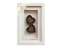 Image for Two Hearts Entwined Cream Framed Shadow Box